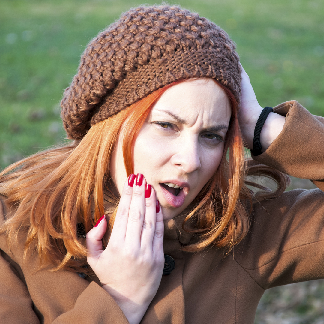Can teeth get the winter blues?
