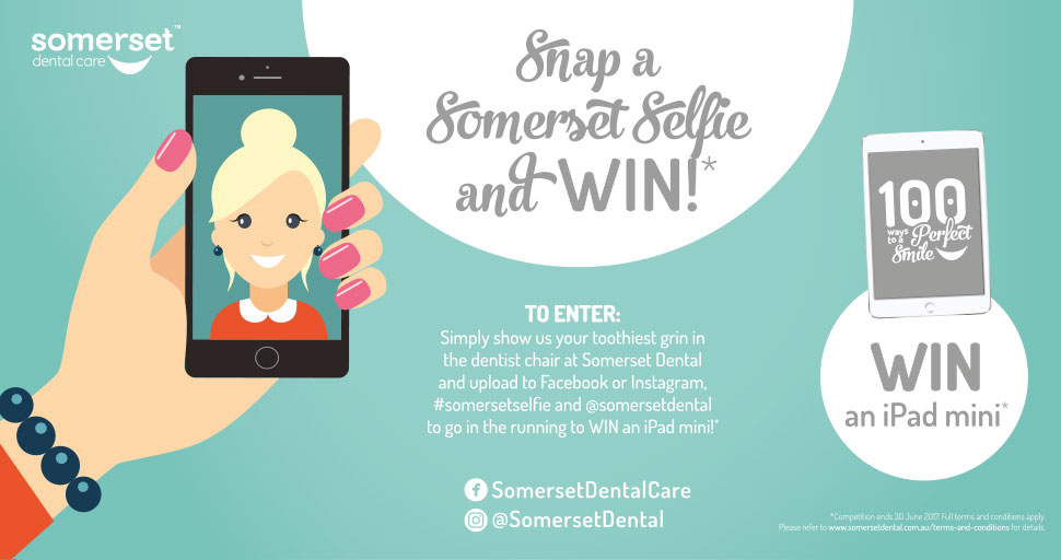 WIN AN IPAD MINI SELFIE COMPETITION