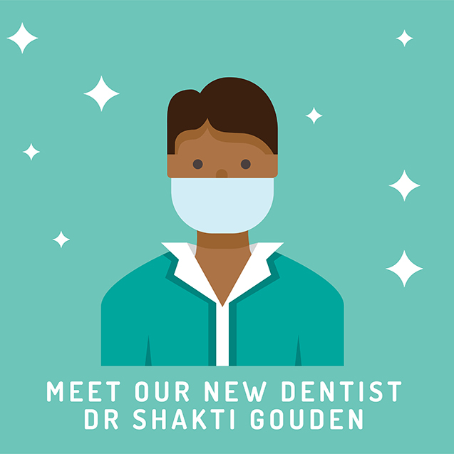 Meet our new Dentist Dr Shakti Gounden