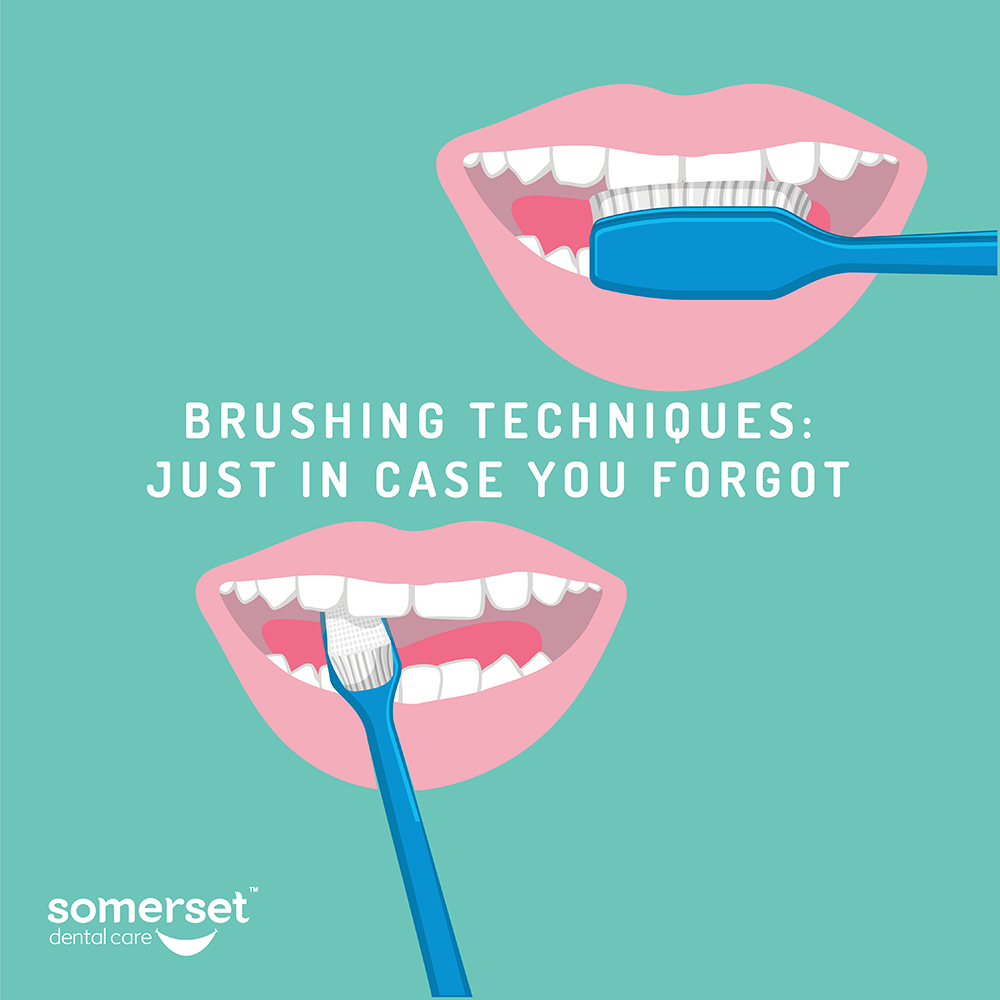 Brushing techniques: just in case you forgot