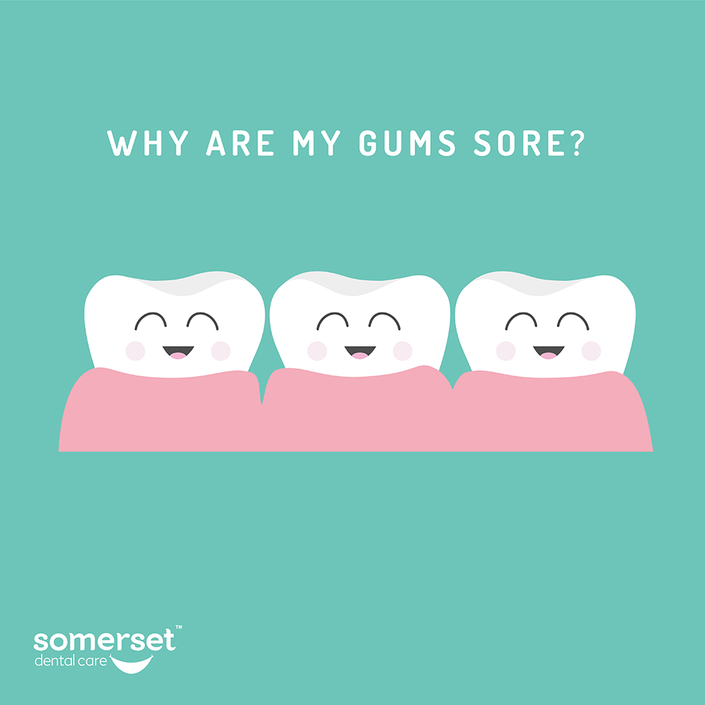Why are my gums sore? (Video Q&A with Dr Shakti)
